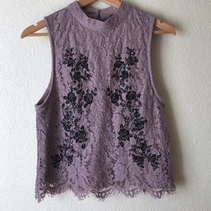 Miss Chievous Boho Lace Top